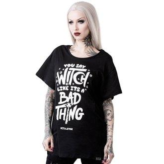 t-shirt women's - WHO'S BAD RELAXED - KILLSTAR, KILLSTAR