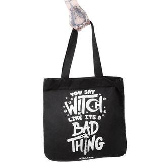 Bag (shoulder bag) KILLSTAR - WHO'S BAD - BLACK, KILLSTAR
