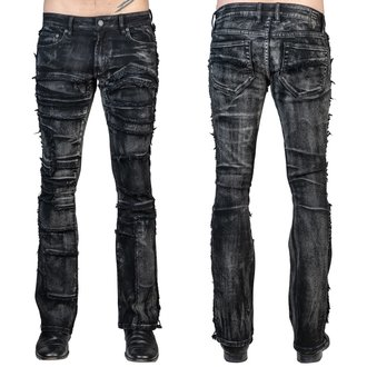 Men's trousers (jeans) WORNSTAR - Remnant - Black