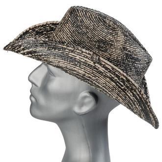 Hat WORNSTAR - Hellrider Black & Natural Rocker Cowboy - WSH-103-HDNK-1