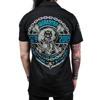 Shirt Men's WORNSTAR - MASTER Fight Fire - Black, WORNSTAR