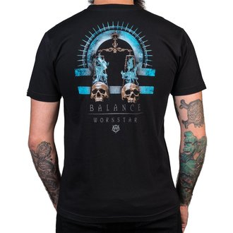t-shirt hardcore men's - Balance - WORNSTAR