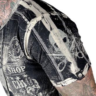 t-shirt hardcore men's - Blood Sweat and Shears - WORNSTAR - WSTM-BSSH