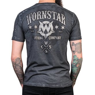 t-shirt hardcore men's - Chop Shop - WORNSTAR, WORNSTAR