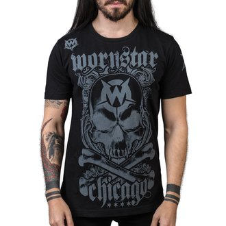 t-shirt hardcore men's - Chicago Core - WORNSTAR, WORNSTAR