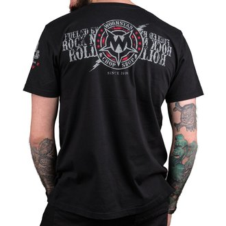 t-shirt hardcore men's - Electric - WORNSTAR, WORNSTAR