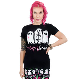 t-shirt gothic and punk women's - BABYDOLL - TOO FAST - WTBD-R-SQUAD