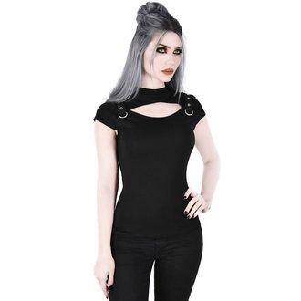 t-shirt women's - Xara Keyhole - KILLSTAR, KILLSTAR