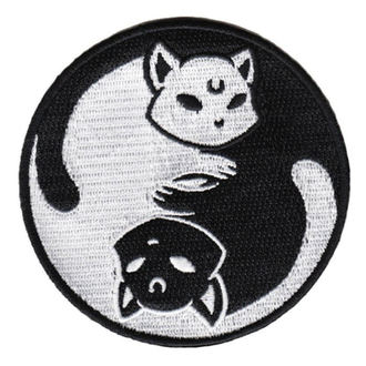 Iron-on patch (patch) KILLSTAR - Yin Yang - BLACK - K-PTH-U-1396