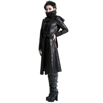 women's coat PUNK RAVE - Black Dragon, PUNK RAVE