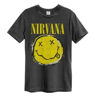 t-shirt metal men's Nirvana - Worn Out Smiley - AMPLIFIED, AMPLIFIED, Nirvana