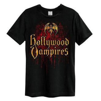 t-shirt metal men's Hollywood Vampires - Bat Blood Logo - AMPLIFIED, AMPLIFIED, Hollywood Vampires