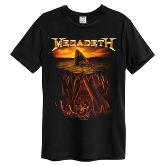 t-shirt metal men's Megadeth - Nuke Shark - AMPLIFIED