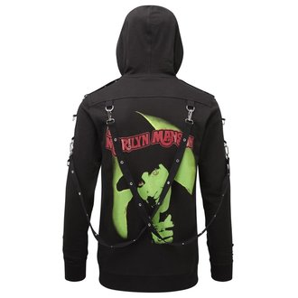 Hoodie Unisex KILLSTAR - Marilyn Manson - Smells Like Manson - Black, KILLSTAR, Marilyn Manson