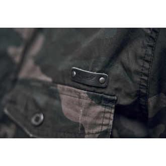shirt men BRANDIT - Men Shirt Slim Darkcamo - 4005/4