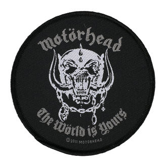 patch MOTORHEAD - THE WORLD IS YOURS - RAZAMATAZ - SP2553