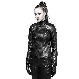 leather jacket women's - Skinner - PUNK RAVE, PUNK RAVE