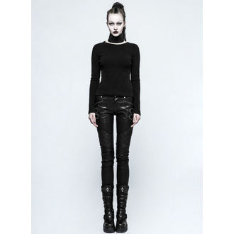 women's trousers PUNK RAVE - K-297 Mantrap leather, PUNK RAVE