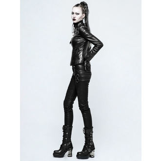women's trousers PUNK RAVE - K-297 Mantrap leather - K-297