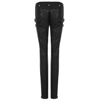 women's trousers PUNK RAVE - K-297 Mantrap leather - K-297