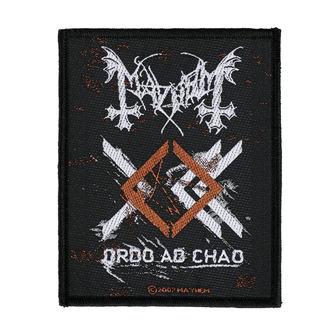 patch MAYHEM - ORDO AD CHAO - RAZAMATAZ, RAZAMATAZ, Mayhem