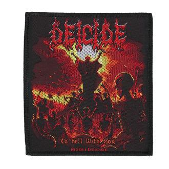 patch DEICIDE - TO HELL WITH GOD - RAZAMATAZ, RAZAMATAZ, Deicide