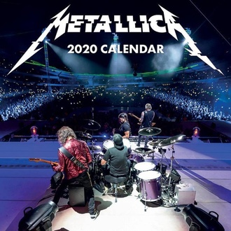 Calendar for the year 2020 - METALLICA - C20021