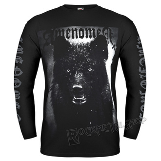 t-shirt hardcore men's - BLACK WOLF - AMENOMEN - OMEN024LO