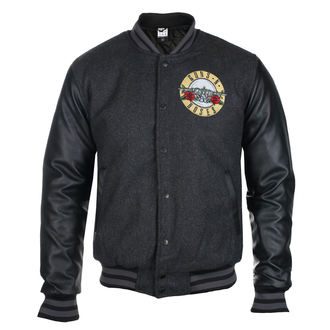 spring/fall jacket Guns N' Roses - VARSITY - AMPLIFIED, AMPLIFIED, Guns N' Roses
