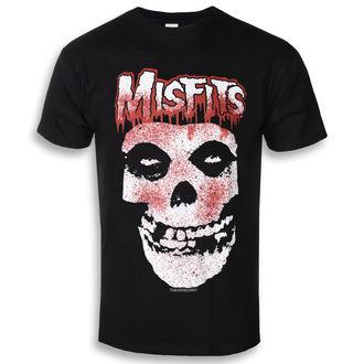 t-shirt metal men's Misfits - Blood Drip Skull - ROCK OFF, ROCK OFF, Misfits