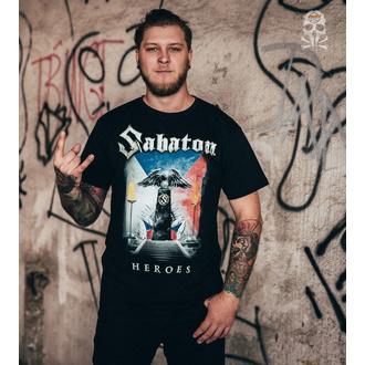 Metal T-Shirt men's Sabaton - Heroes Czech Republic - CARTON - K_675