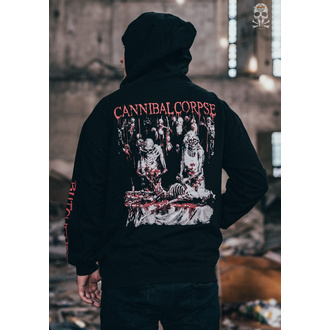 hoodie men's Cannibal Corpse - BUTCHERED AT BIRTH - PLASTIC HEAD - PH11724HSWZ