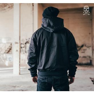 jacket men spring/autumn (HARRINGTON) BRANDIT - Lord Canterbury Black - 3112/2