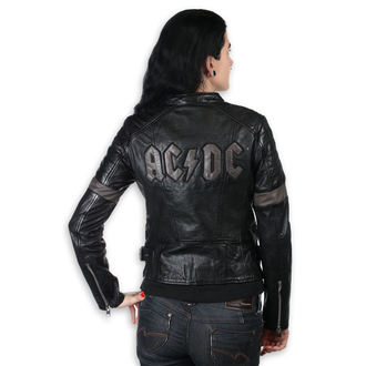 leather jacket women's AC-DC - MEGYN - NNM, NNM, AC-DC