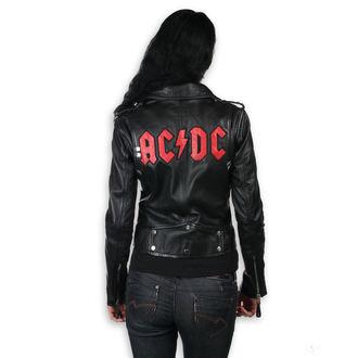 leather jacket women's AC-DC - LNTC Black - NNM, NNM, AC-DC