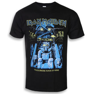 t-shirt metal men's Iron Maiden - Back In Time Mummy - ROCK OFF, ROCK OFF, Iron Maiden