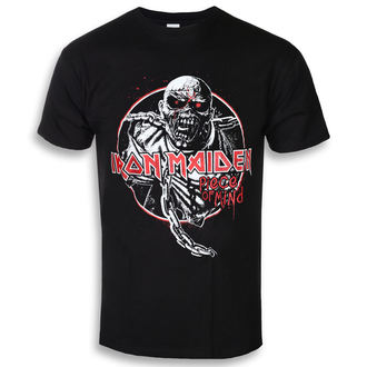t-shirt metal men's Iron Maiden - Piece Of Mind Circle - ROCK OFF, ROCK OFF, Iron Maiden