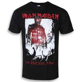 t-shirt metal men's Iron Maiden - The Wicker Man Smoke - ROCK OFF, ROCK OFF, Iron Maiden