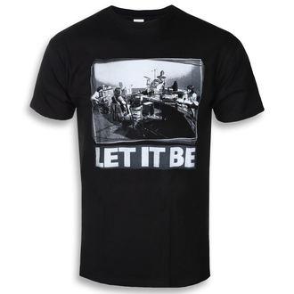 t-shirt metal men's Beatles - Let It Be Studio - ROCK OFF - BEATTEE383MB