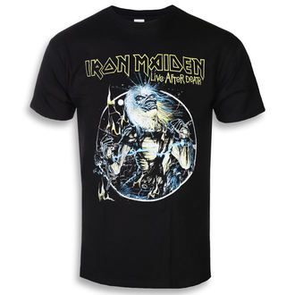 t-shirt metal men's Iron Maiden - Live After Death - ROCK OFF, ROCK OFF, Iron Maiden