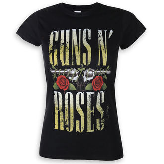 Metal T-Shirt women's Guns N' Roses - Big Guns - ROCK OFF - GNRTS24LB