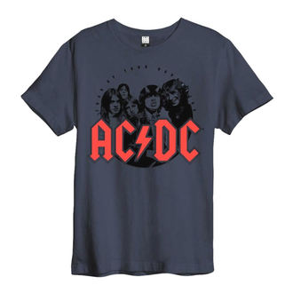 t-shirt metal men's AC-DC - AMPLIFIED - AMPLIFIED, AMPLIFIED, AC-DC