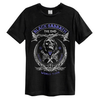 t-shirt metal men's Black Sabbath - Black - AMPLIFIED, AMPLIFIED, Black Sabbath