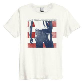 t-shirt metal men's Bruce Springsteen - BORN IN THE USA - AMPLIFIED, AMPLIFIED, Bruce Springsteen