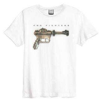 tričko pánské Foo Fighters - Ray Gun - White - AMPLIFIED, AMPLIFIED, Foo Fighters