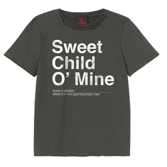 t-shirt metal children's Guns N' Roses - Sweet Child O Mine - AMPLIFIED - ZAV450SCM