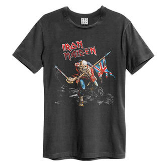 t-shirt metal men's Iron Maiden - 80S TOUR - AMPLIFIED, AMPLIFIED, Iron Maiden