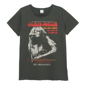 t-shirt metal women's Janis Joplin - Madison Square Garden - AMPLIFIED - ZAV770B09