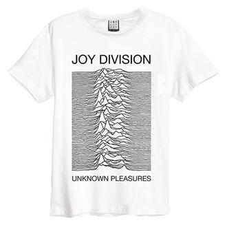 t-shirt metal men's Joy Division - Unknown Pleasures - AMPLIFIED, AMPLIFIED, Joy Division