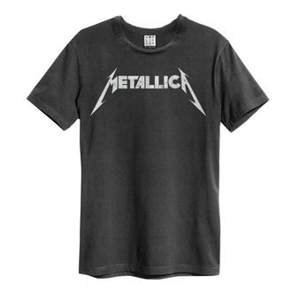 t-shirt metal men's Metallica - LOGO - AMPLIFIED, AMPLIFIED, Metallica